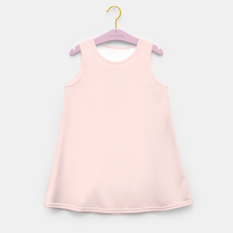 Thumbnail image of color misty rose Girl's summer dress, Live Heroes
