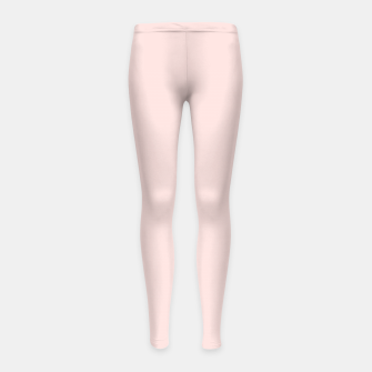 Thumbnail image of color misty rose Girl's leggings, Live Heroes