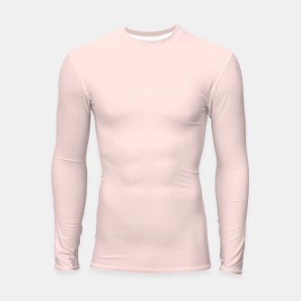 Thumbnail image of color misty rose Longsleeve rashguard , Live Heroes