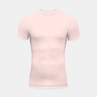 Thumbnail image of color misty rose Shortsleeve rashguard, Live Heroes
