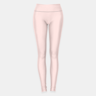 Thumbnail image of color misty rose Leggings, Live Heroes