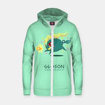Thumbnail image of Gloson - the darkness-sow Zip up hoodie, Live Heroes