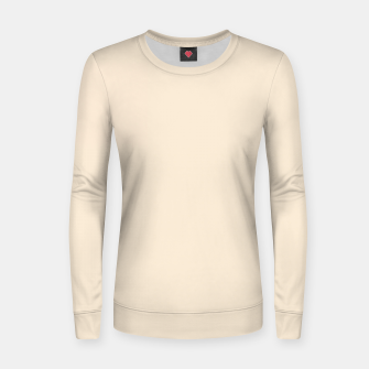 Thumbnail image of color antique white Women sweater, Live Heroes