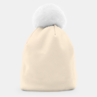 Thumbnail image of color antique white Beanie, Live Heroes