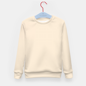 Thumbnail image of color antique white Kid's sweater, Live Heroes