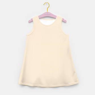 Thumbnail image of color antique white Girl's summer dress, Live Heroes