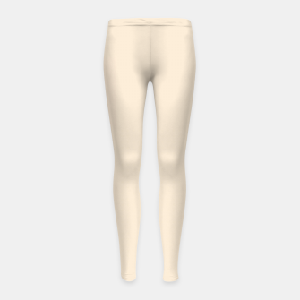 Thumbnail image of color antique white Girl's leggings, Live Heroes