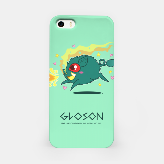 Thumbnail image of Gloson - the darkness-sow iPhone Case, Live Heroes