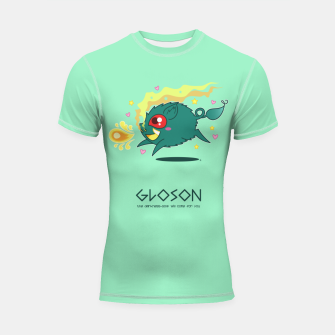 Thumbnail image of Gloson - the darkness-sow Shortsleeve rashguard, Live Heroes