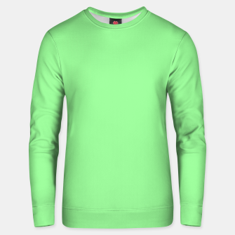 Thumbnail image of color pale green Unisex sweater, Live Heroes