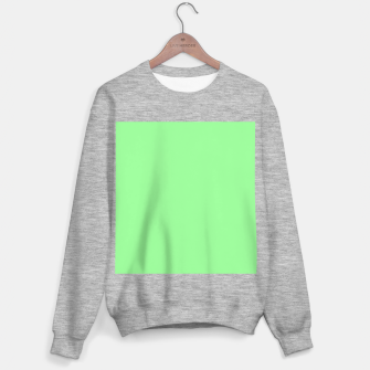 Thumbnail image of color pale green Sweater regular, Live Heroes