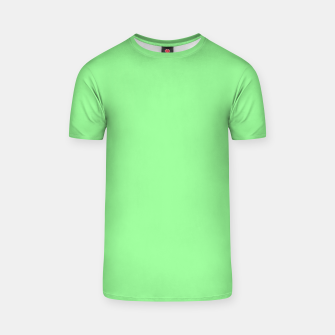 Thumbnail image of color pale green T-shirt, Live Heroes