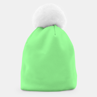 Thumbnail image of color pale green Beanie, Live Heroes