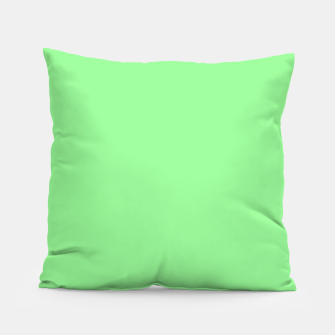 Thumbnail image of color pale green Pillow, Live Heroes