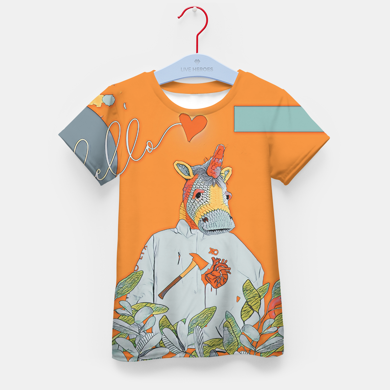 Image of Love Kid's t-shirt - Live Heroes