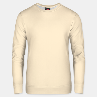 Miniatur color blanched almond Unisex sweater, Live Heroes
