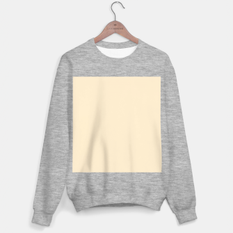 Miniatur color blanched almond Sweater regular, Live Heroes