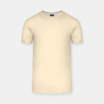 Miniatur color blanched almond T-shirt, Live Heroes