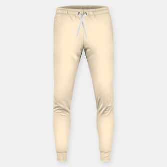 Miniatur color blanched almond Sweatpants, Live Heroes