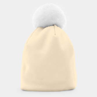 Miniatur color blanched almond Beanie, Live Heroes