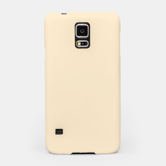 Miniatur color blanched almond Samsung Case, Live Heroes