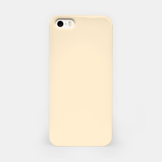 Miniatur color blanched almond iPhone Case, Live Heroes