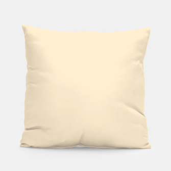 Miniatur color blanched almond Pillow, Live Heroes