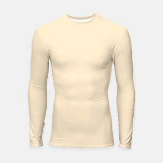 Miniatur color blanched almond Longsleeve rashguard , Live Heroes