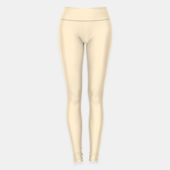 Miniatur color blanched almond Leggings, Live Heroes
