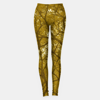 Miniaturka Forest Landscape Illustration Leggings, Live Heroes