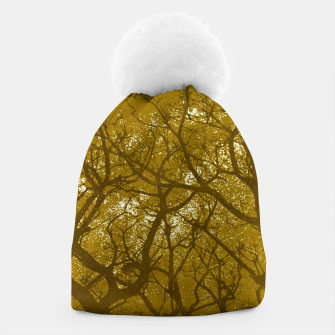 Thumbnail image of Forest Landscape Illustration Beanie, Live Heroes