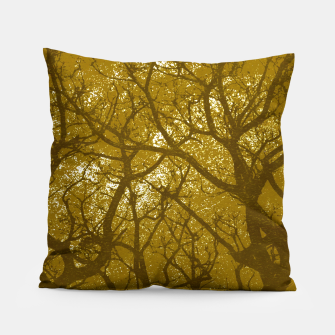 Thumbnail image of Forest Landscape Illustration Pillow, Live Heroes
