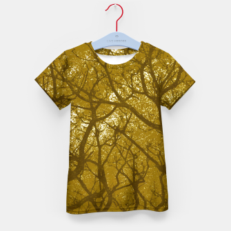 Thumbnail image of Forest Landscape Illustration Kid's t-shirt, Live Heroes
