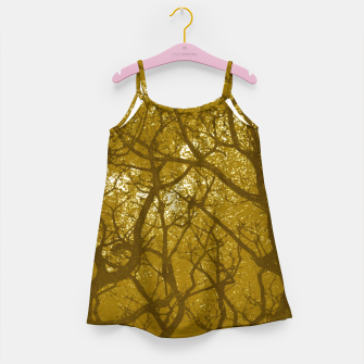 Miniatur Forest Landscape Illustration Girl's dress, Live Heroes