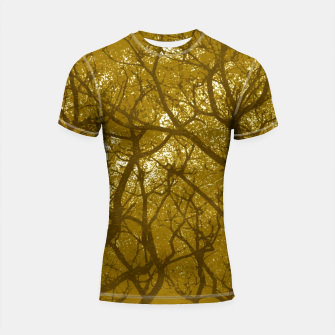 Thumbnail image of Forest Landscape Illustration Shortsleeve rashguard, Live Heroes