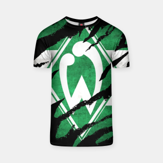 Thumbnail image of SV Werder Bremen Germany Bundesliga Football Club Fans T-shirt, Live Heroes