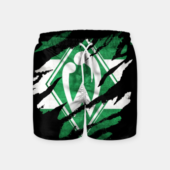Thumbnail image of SV Werder Bremen Germany Bundesliga Football Club Fans Swim Shorts, Live Heroes