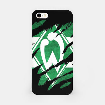 Thumbnail image of SV Werder Bremen Germany Bundesliga Football Club Fans iPhone Case, Live Heroes
