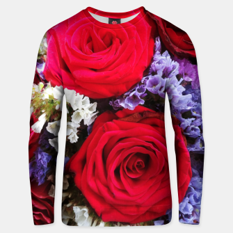 Thumbnail image of bouquet of rose and perturbed Bluza unisex, Live Heroes