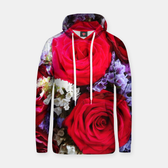 Thumbnail image of bouquet of rose and perturbed Bluza z kapturem, Live Heroes