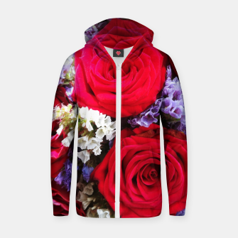 Thumbnail image of bouquet of rose and perturbed Bluza z zamkiem, Live Heroes