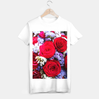 Thumbnail image of bouquet of rose and perturbed Koszulka standard, Live Heroes