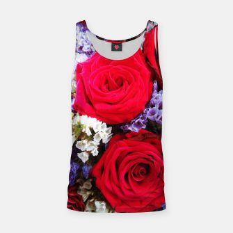 Thumbnail image of bouquet of rose and perturbed Tank Top, Live Heroes