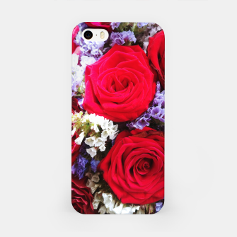Thumbnail image of bouquet of rose and perturbed Obudowa iPhone, Live Heroes