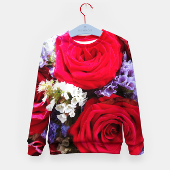 Thumbnail image of bouquet of rose and perturbed Bluza dziecięca, Live Heroes