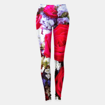 Thumbnail image of bouquet of rose and perturbed Legginsy, Live Heroes