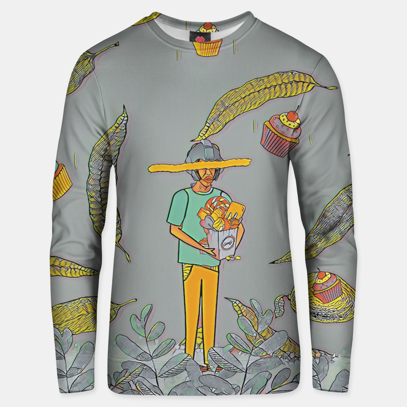 Image of Muffin Unisex sweater - Live Heroes