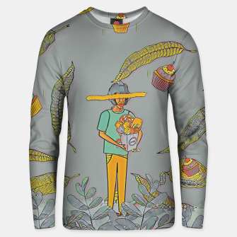 Thumbnail image of Muffin Unisex sweater, Live Heroes