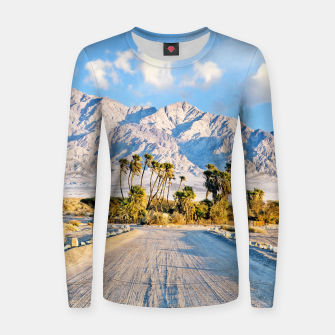 Miniatur Summer Scenic Women sweater, Live Heroes