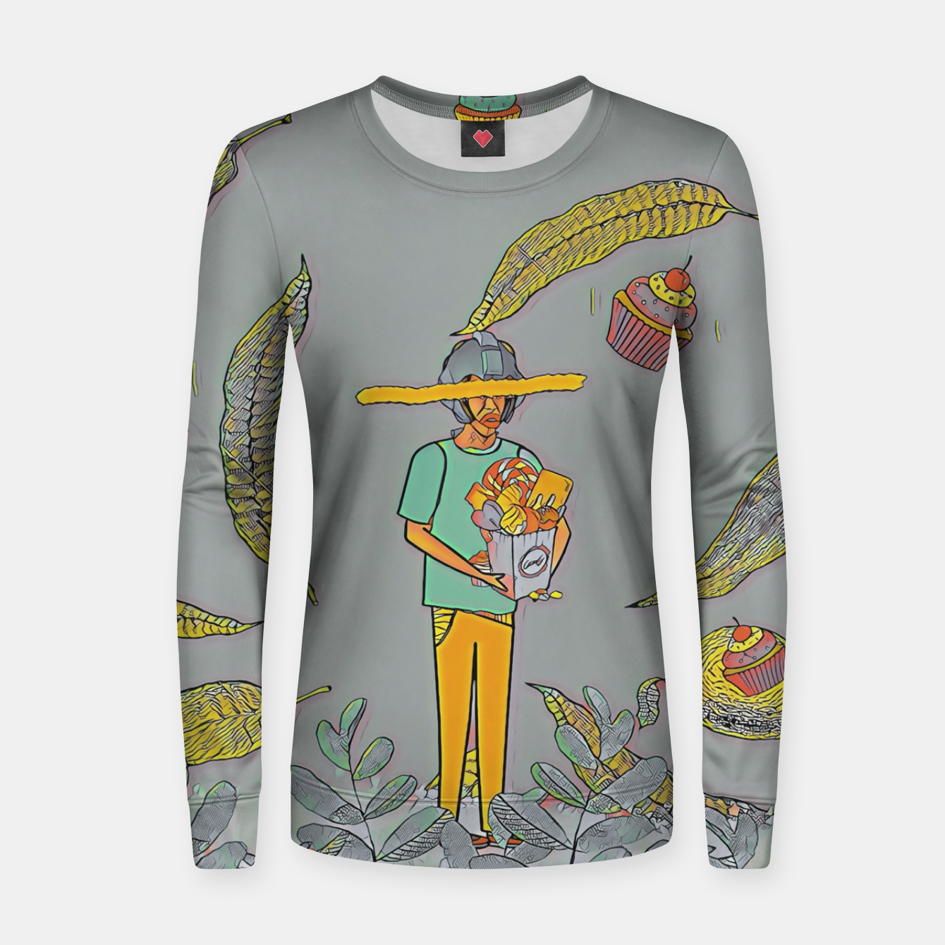 Image of Muffin Women sweater - Live Heroes